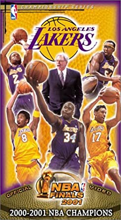 4db410bb23bfd Amazon.com  2001 NBA Finals Los Angeles Lakers Championship Video ...