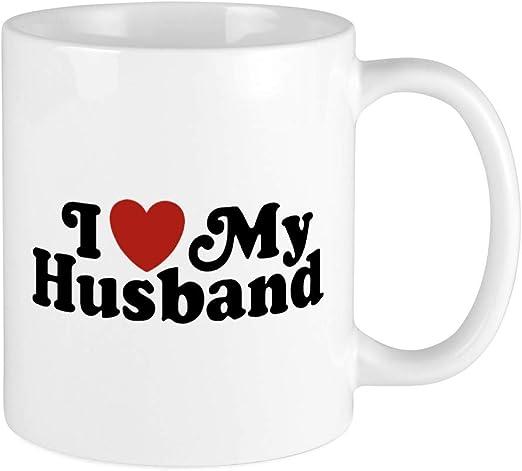 I Love My Husband Mug White Kitchen Dining