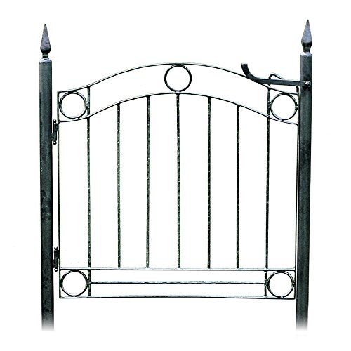 Country Cottage Garden Gate (Ornamental Wrought Iron Gates)