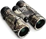 Bushnell PowerView 10x 42mm Roof Prism Binocular (Realtree AP Camo)
