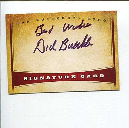 Dick Buerkle US Olympic Runner Villanova Wildcats Track Signed Autograph Card - Autographed College Cards (Wildcats Runner)