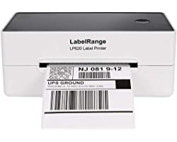 LabelRange 300DPI Thermal Label Printer - Label Printer 4x6 - Shipping Label Printer,Support Amazon Ebay Paypal Shopify Etsy