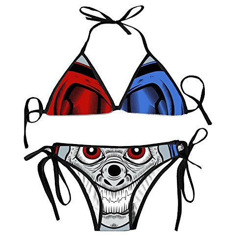 Women's Evil Clown Triangle Bathing Sexy Two Pieces