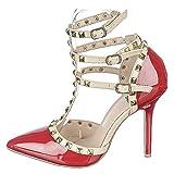 Shiekh Adora-55n Dress High Heel - Red Size 9 | amazon.com