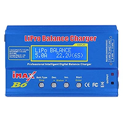 MonkeyJack iMAX B6 Mini Lipo Quick Balance Charger Discharger For RC Battery Charging