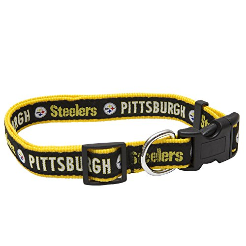 Pets First NFL Pittsburgh Steelers Pet Collar, - New Outlet Stores Jersey