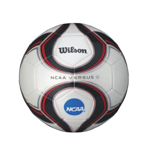 Wilson Versus Soccer Ball, Red/White/Black, Size 3