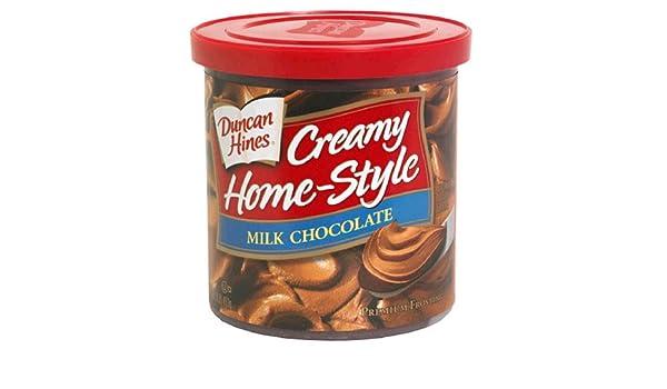 Duncan Hines Frosting Milk Chocolate 453g: Amazon.es: Alimentación y bebidas