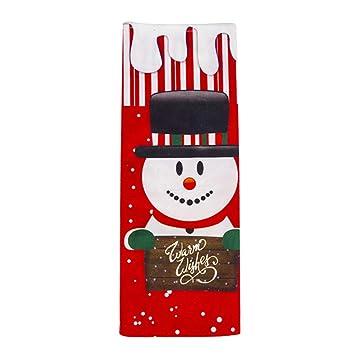 Amazon.com: Ammzzoo111 Bolsas de vino tinto de Navidad ...