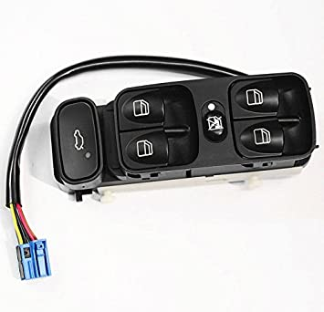 New Power Window Switch Console 2038200110 FRONT LEFT Mercedes Benz C320
