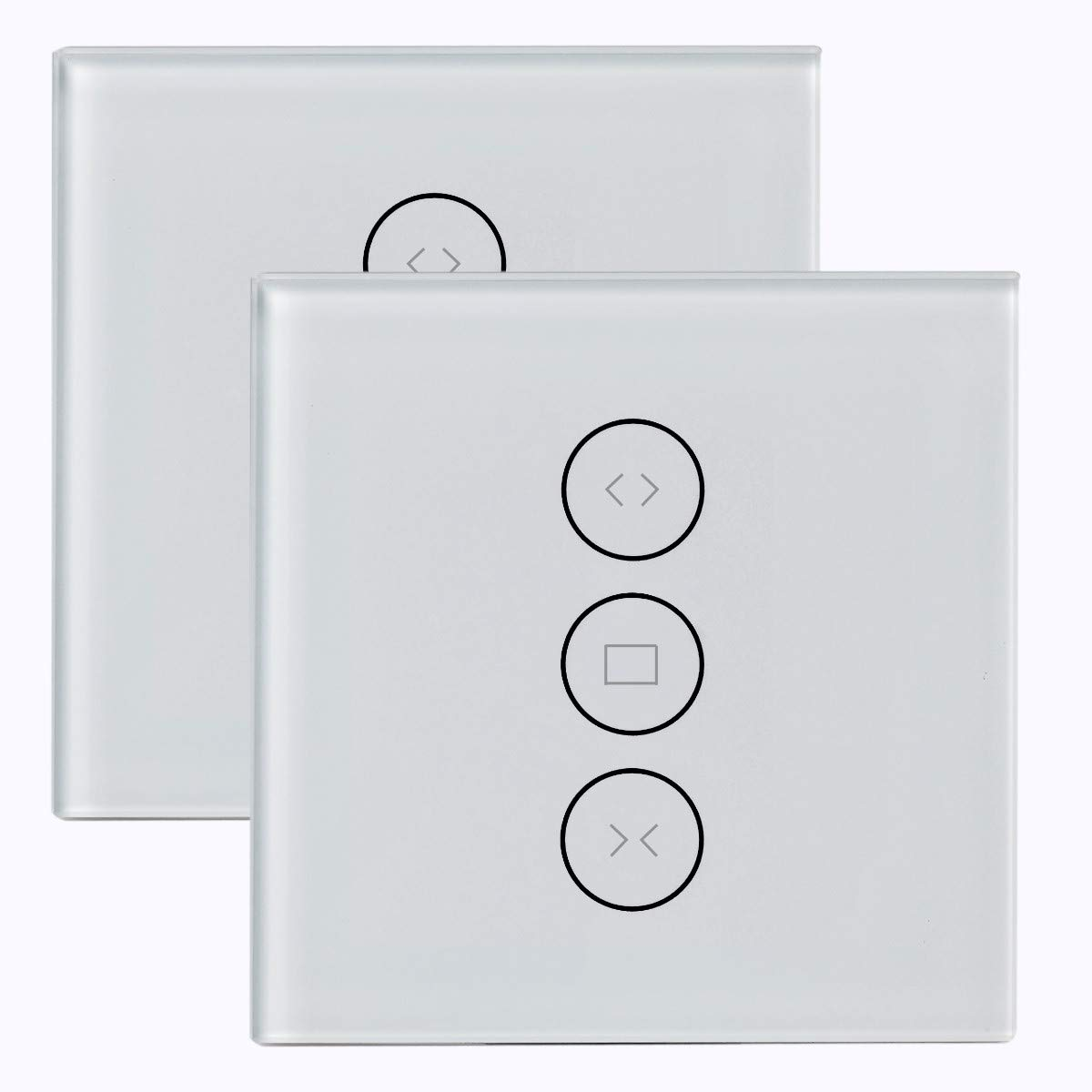 Konyks Vollo Max - lot de 2 Interrupteurs encastrables pour volets roulants Wi-Fi