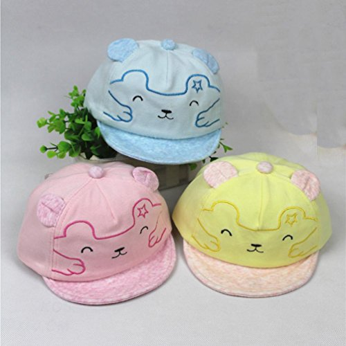 Baby Boys Girls Beanie Cotton Hat Children Print Cap Digood Suit for 1-3 Years Old Baby