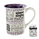 i am not a paper cup - Hairstylist Occupation Coffee Mug 16-ounce & Bag - 2 Piece Gift Set