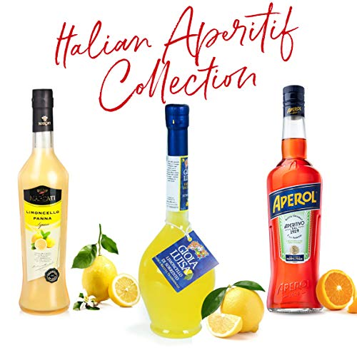 - Italian Aperitif Collection 01 (Aperol, Limoncello Cream, Limoncello Sorrento)