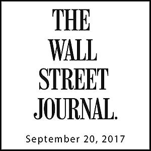 September 20, 2017 Audiomagazin von  The Wall Street Journal Gesprochen von: Alexander Quincy