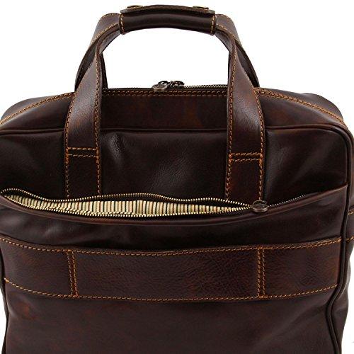 Emilia Exclusive Honey case Reggio Tuscany laptop Black leather Leather qSCwaP
