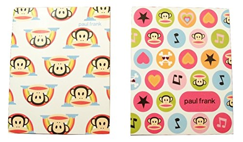 Paul Frank 2 Folder Set by Mead (Julius Rainbows; Paul Frank Circles)