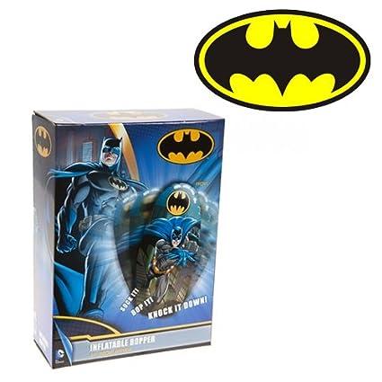 BATMAN VS SUPERMAN INFLATABLE PUNCHING BOXING BOP GLOVES PUNCH BAG KIDS GIFT