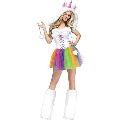 Amazon Com Fun World Women S Unicorn Costume Clothing