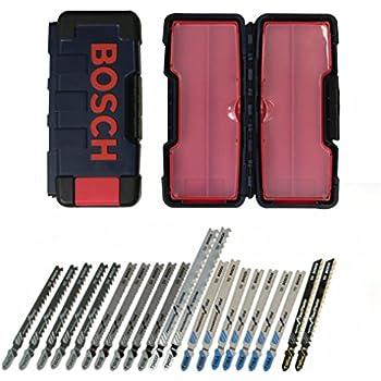 Bosch TC21HC 21-Piece T-Shank Contractor Jig Saw Blade Set