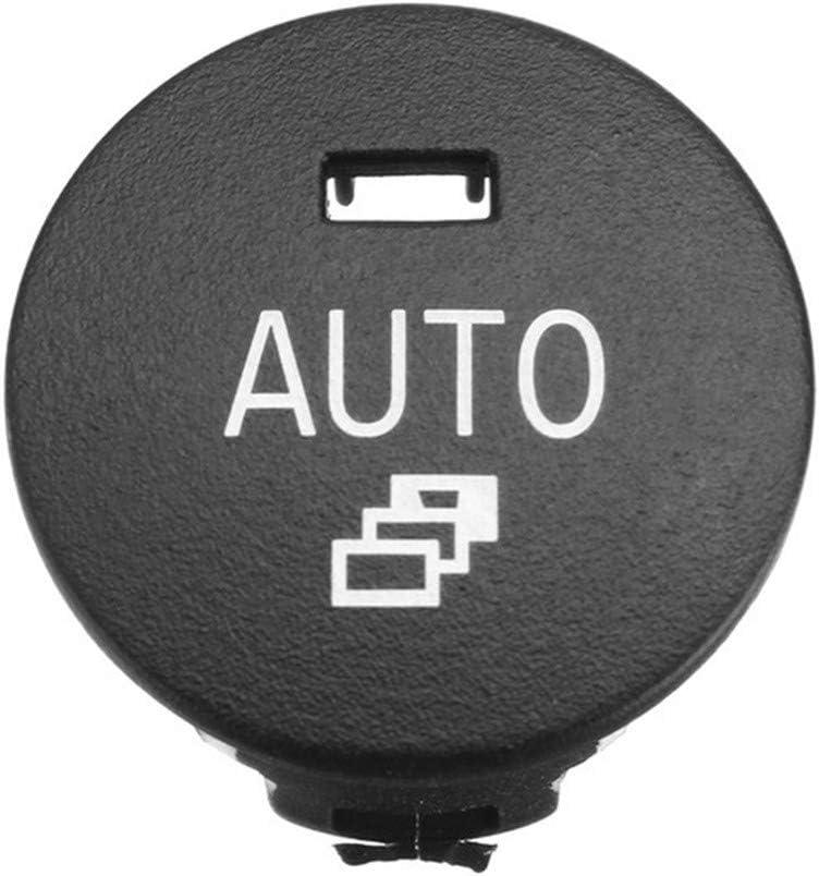 1pc Heizung Klima-Steuerdrehknopf Auto-Klimaanlage Panel-Schalter-Knopf-Reparatur-Kappen-Abdeckung Verkleidung for BMW 5er E60 E61 2003-2010 Gr/ö/ße : Auto NO LOGO LSB-Auto-Schalter