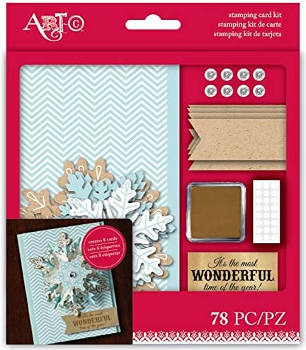 Amazon.com: Most Wonderful Stamping Card Kit: Kitchen & Dining