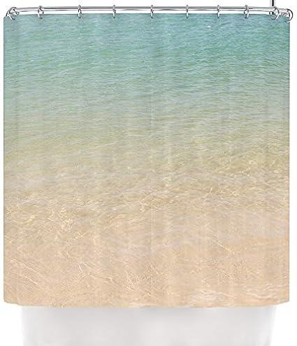 Kess InHouse Catherine McDonald QuotOmbre Seaquot Beach Photography Shower Curtain
