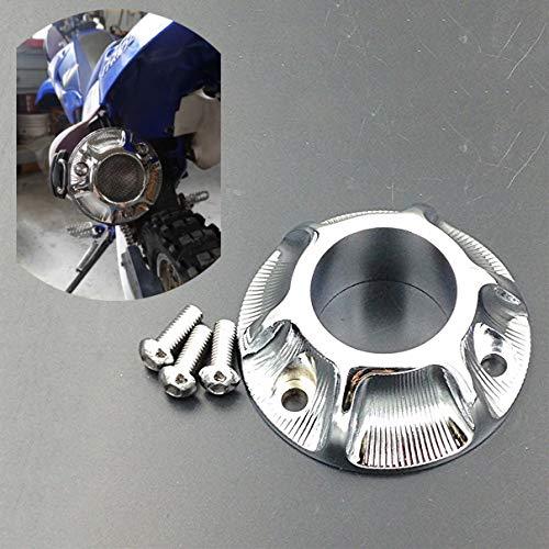 Exhaust 125 - Motorbike Chromed Exhaust Tip For Kawasaki Klx 125 /Klx 125L Suzuki Drz Yamaha Tt-R50/Tt-R125E