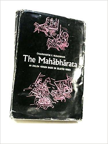 Mahabharata (Translations from the Asian classics) (1965-07-05)