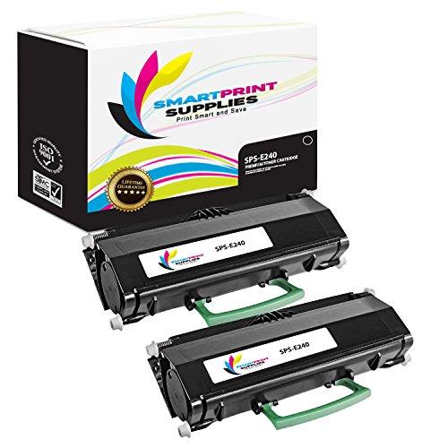 (Smart Print Supplies Compatible 24015SA Black Toner Cartridge Replacement for Lexmark E230 E232 E234 E238 E240 E330 E332 E340 E342 X340 X342 Printers (2,500 Pages) - 2 Pack)