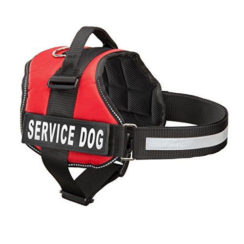 Service-Dog-Harness-With-Velcro-Straps-and-Handle-Available-In-7-Sizes-From-Extra-Small-to-Extra-Large-Vest-Features-Reflective-Patch-and-Comfortable-Mesh-Design-From-Industrial-Puppy