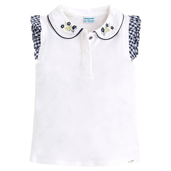 Mayoral 3102, Camiseta térmica para Niños, Blanco (Crudo), 3 años (
