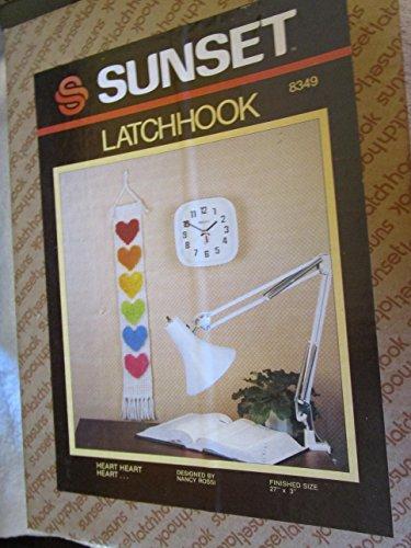 Heart Heart Heart. Latch Hook Kit ()