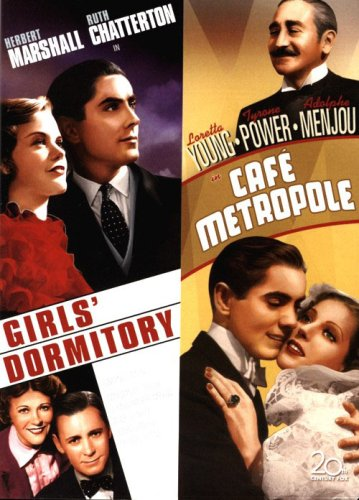 Cafe Metropole DVD (1937) Tyrone Power, Adolphe Mejou, Loretta Young / Girls Dormitory (1936) Tyrone Power - Herbert Marshall Double Feature - Metropol Collection