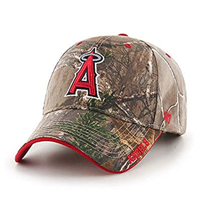 Los Angeles Angels of Anaheim Realtree Frost Cleanup Adjustable Hat