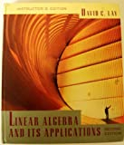 Linear Algebra and Its Applications, Lay, David C., 0201824795