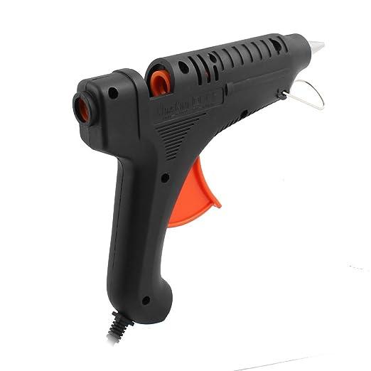 eDealMax CA 100-240V 65W nos enchufe de fusión en caliente pistola de pegamento de alta temperatura de activación flexible para bricolaje pequeños proyectos ...