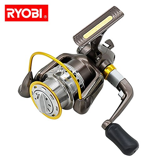 (Glumes Fishing Reel, Light Smooth Bass Gear Spinning Casting Left Right Saltwater Freshwater Fishing Reels)