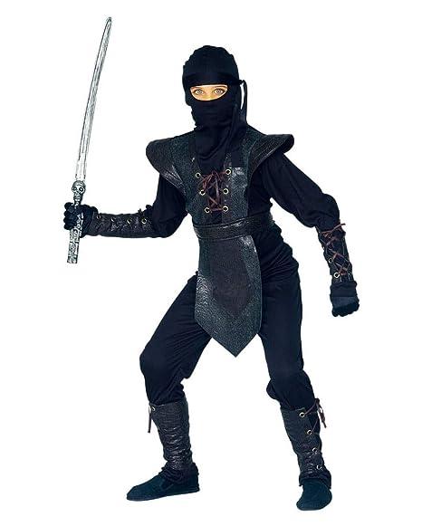 Horror-Shop Traje de Ninja para los niños S