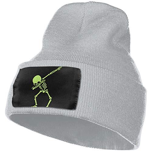 db6304a9f86 Crazy Popo Dabbing Cuffed Plain Skull Knit Hat Cap - Warm