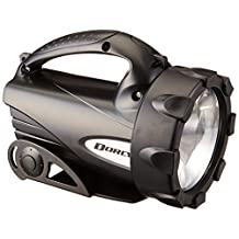 Dorcy 41-4291 65 Lumen LED Lantern with Batteries and Conversion Cartridge (Black/ Silver)