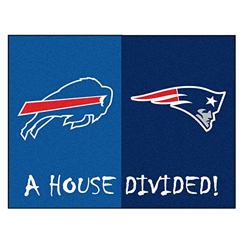- FANMATS NFL House Divided Nylon Face House Divided Rug