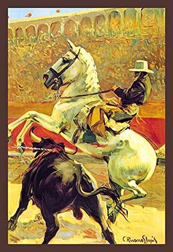 Amazon.com: Buyenlarge Cartel De Toros Sin Texto - Gallery ...