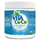 Vita Coco Organic Virgin Coconut Oil, 16 Oz – Non GMO Cold Pressed Gluten Free Unrefined Oil – Used For Cooking Oil – Great for Skin Moisturizer or Hair Shampoo – BPA Free Plastic Jar