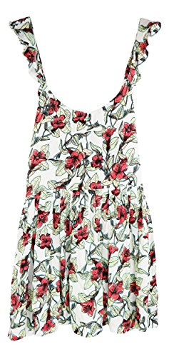 Free People Womens Dear You Floral Print Sleeveless Sundress Beige M from Free People