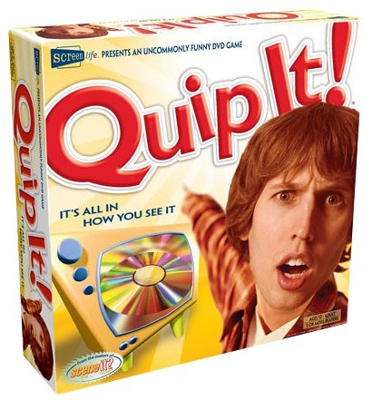 Screenlife Quip It DVD Game