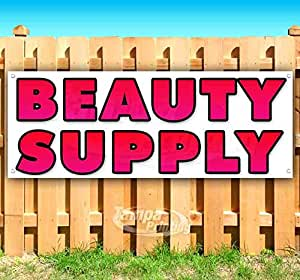 Amazon Com Beauty Supply 13 Oz Heavy Duty Vinyl Banner