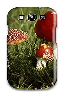 High Impact Dirt/shock Proof Case Cover For Galaxy S3 (mushroom)