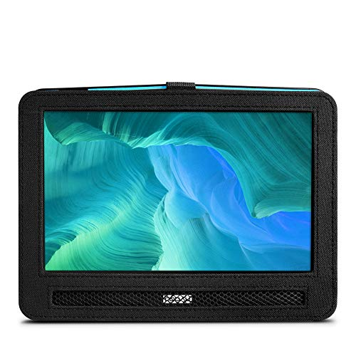 "COOAU Headrest Hands-Free Carry Case for 10"" - 10.5"" Portable DVD Player with Swivel & Flip Screen"