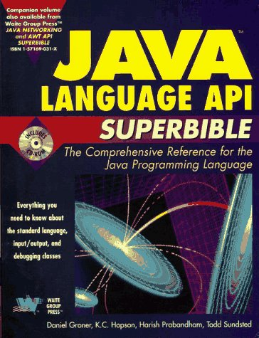Java Language Api Superbible (Java API superbible) by Waite Group Pr